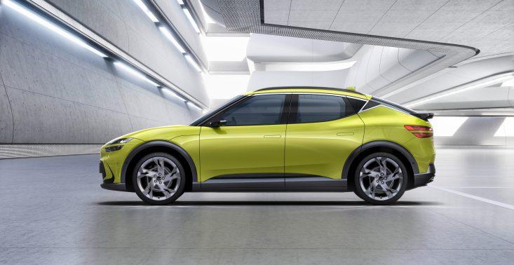 Hyundai prezentuje nowy model samochodu elektrycznego Genesis GV60<