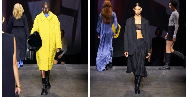 Jesienno-zimowa kolekcja COS na London Fashion Week<