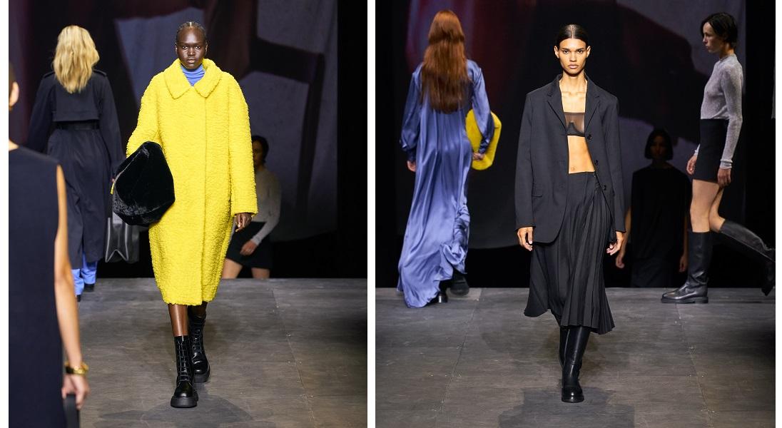 Jesienno-zimowa kolekcja COS na London Fashion Week