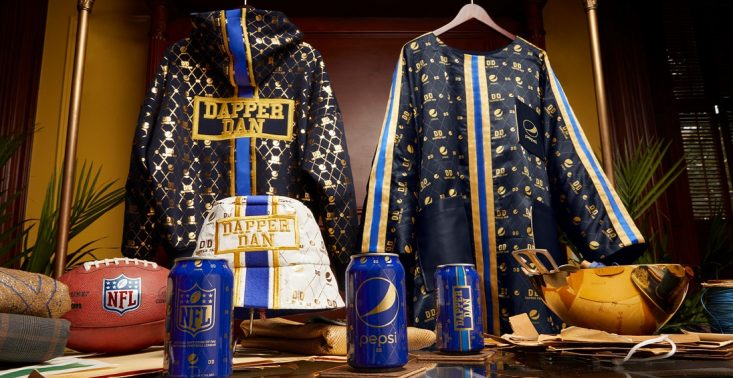 Kapsułowa kolekcja Pepsi x Dapper Dan stworzona do oglądania meczów<