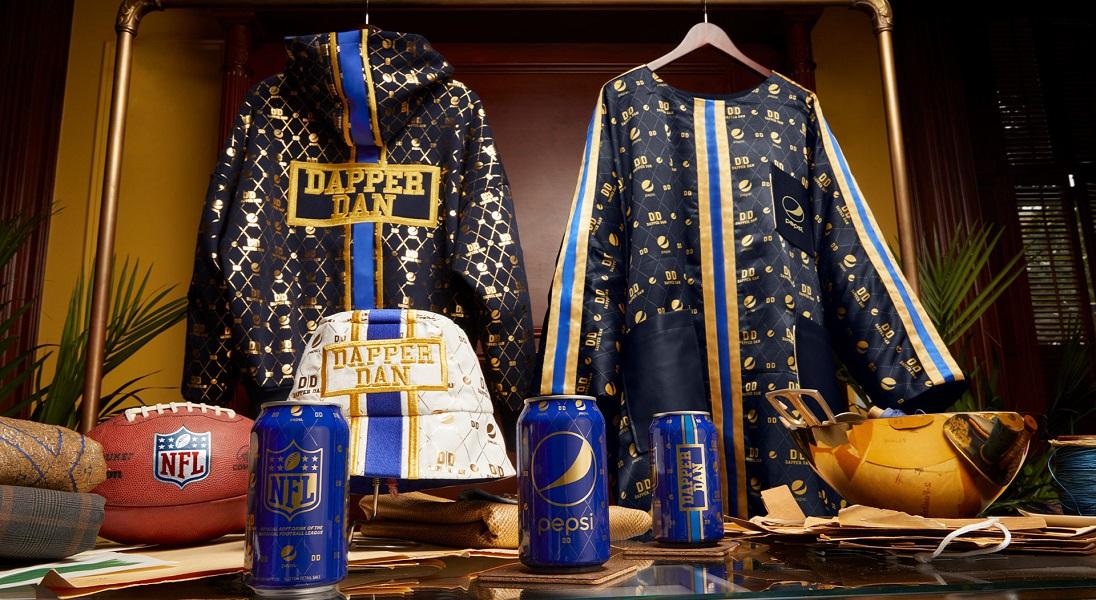 Kapsułowa kolekcja Pepsi x Dapper Dan stworzona do oglądania meczów