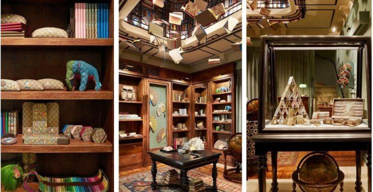 Gucci otwiera bajkowy sklep papierniczy w Mediolanie<