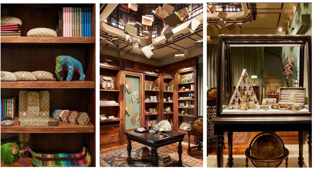 Gucci otwiera bajkowy sklep papierniczy w Mediolanie