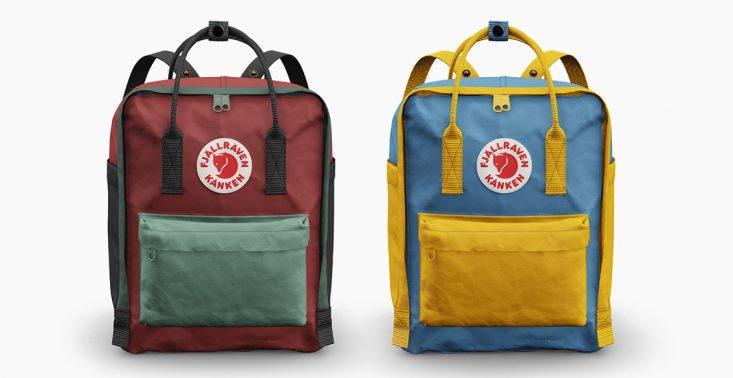 Fjällräven pozwala personalizować swój słynny plecak Kånken<