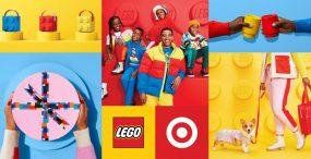 LEGO x Target – limitowana kolekcja odzieży i artykułów gospodarstwa domowego przypominająca kultowe klocki