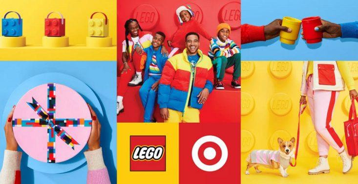 LEGO x Target – limitowana kolekcja odzieży i artykułów gospodarstwa domowego przypominająca kultowe klocki<