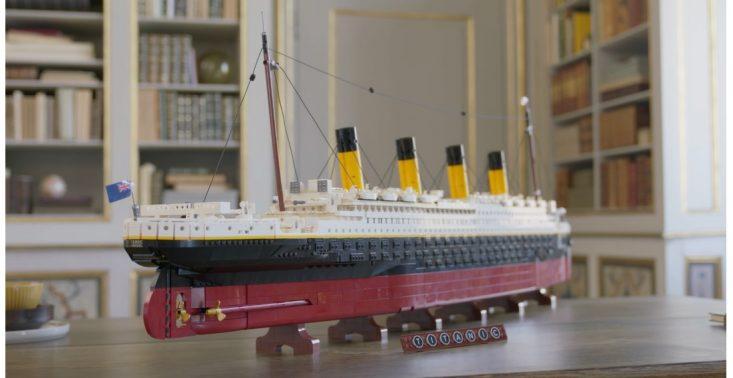 Największy model LEGO jest odzwierciedleniem Titanica<