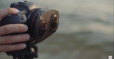 """Canon prezentuje podwójny obiektyw """"rybie oko"""", służący do tworzenia materiałów 3D VR"""